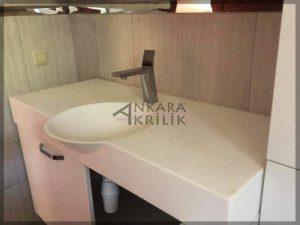 Eskişehir Akrilik Banyo Tezgahı